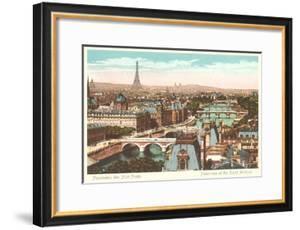 Panorama of Eight Bridges over the Seine, Paris