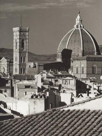 Panorama of Florence with the Belltower of Giotto and the Dome of the Cathedral