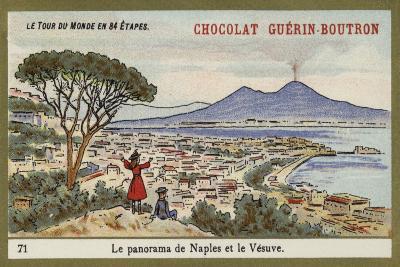 Panorama of Naples and Vesuvius--Giclee Print