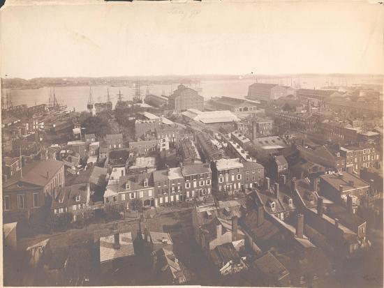 Panorama of Philadelphia, East-Southeast View, 1870--Giclee Print