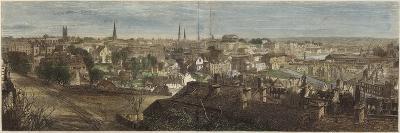 Panorama of Richmond--Giclee Print
