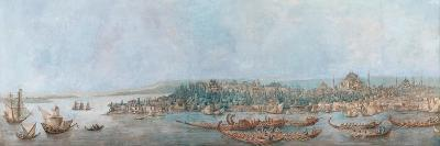 Panorama of Sarayburnu-Louis-Francois Cassas-Giclee Print