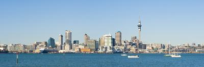 Panorama of the Auckland City Skyline, Auckland, North Island, New Zealand, Pacific-Matthew Williams-Ellis-Photographic Print