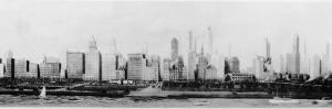 Panorama of the Chicago Skyline