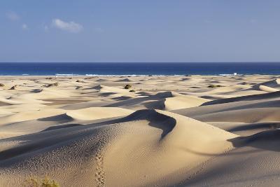 Panorama of the Sand Dunes of Maspalomas-Markus Lange-Photographic Print