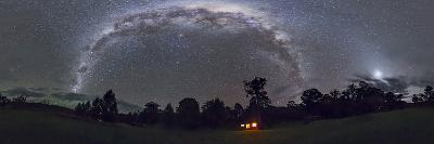 Panorama of the Southern Night Sky in Australia-Stocktrek Images-Photographic Print