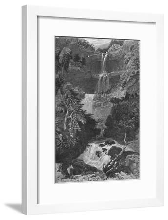 'Panorama of Trenton Falls', 1883-G. Wyand-Framed Giclee Print