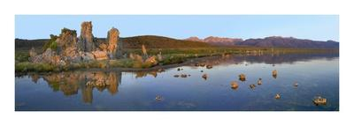 Panorama of tufa towers at Mono Lake, California-Tim Fitzharris-Art Print