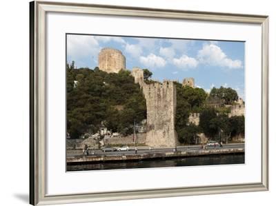 Panorama. Old Fort Along the Bosphorus Coast. Istanbul. Turkey-Tom Norring-Framed Photographic Print