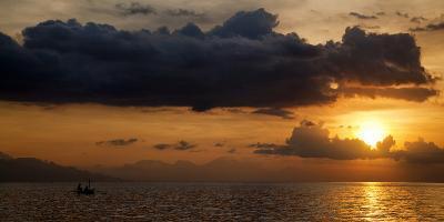 Panorama Sunset No 1-Istv?n Nagy-Photographic Print