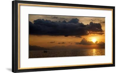 Panorama Sunset No 1-István Nagy-Framed Photographic Print
