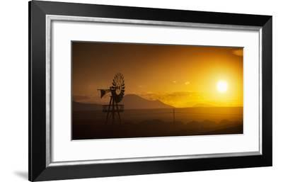 Panorama Sunset No 2-István Nagy-Framed Photographic Print