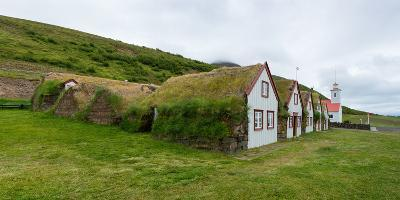 Panorama, Turf House Laufas-Catharina Lux-Photographic Print
