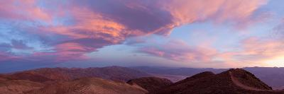 Panorama, USA, Death Valley National Park, Dantes View-Catharina Lux-Photographic Print