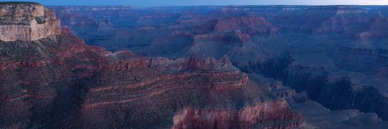 Panorama, USA, Grand Canyon National Park, South Rim-Catharina Lux-Photographic Print