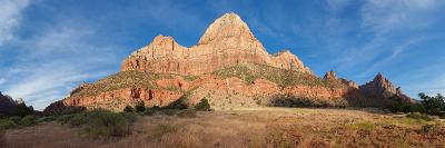 Panorama, USA, Zion National Park-Catharina Lux-Photographic Print