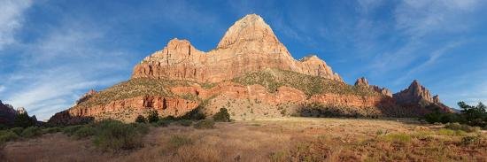 Panorama, USA, Zion National Park-Catharina Lux-Photographic Print
