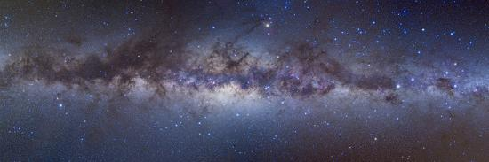 Panorama View of the Center of the Milky Way--Photographic Print