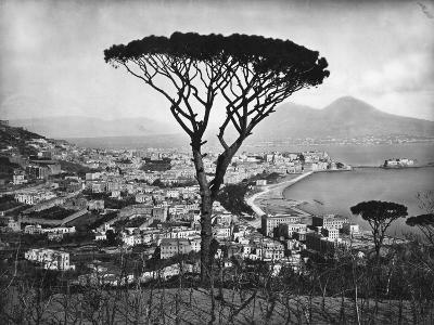 Panoramic Aerial View of Naples--Photographic Print