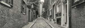 Acorn Street in Beacon Hill, Boston, Massachusetts, USA by Panoramic Images
