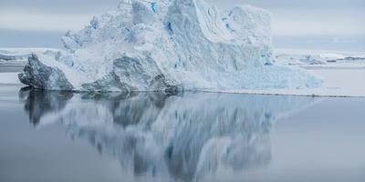 Icebergs in the Southern Ocean, Antarctic Peninsula, Antarctica