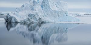 Icebergs in the Southern Ocean, Antarctic Peninsula, Antarctica by Panoramic Images