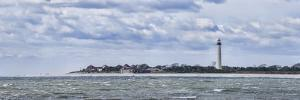 Lighthouse on the coast, Cape May Lighthouse, New Jersey, USA by Panoramic Images
