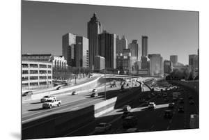 Traffic on the road in a city, Atlanta, Georgia, USA by Panoramic Images