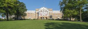View of Bascom Hill with University of Wisconsin-Madison and Bascom Hall, Madison, Dane County,... by Panoramic Images
