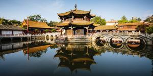 Yuantong Buddhist Temple, Kunming, Yunnan Province, China by Panoramic Images