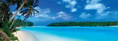 Panoramic Lagoon - Caribbean Sea--Art Print