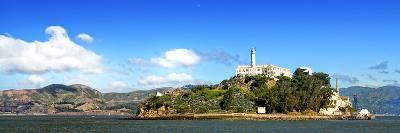 Panoramic Landscape - Alcatraz Island - Prison - San Francisco - California - United States-Philippe Hugonnard-Photographic Print