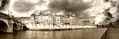 Panoramic Landscape - Ile Saint Louis - Paris - France-Philippe Hugonnard-Photographic Print