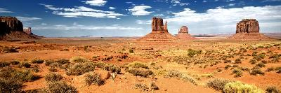 Panoramic Landscape - Monument Valley - Utah - United States-Philippe Hugonnard-Photographic Print