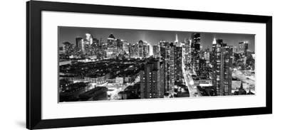 Panoramic Landscape - Times square - Manhattan - New York City - United States-Philippe Hugonnard-Framed Photographic Print