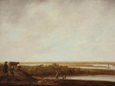 Panoramic Landscape with Shepherds, 1640-45-Aelbert Cuyp-Giclee Print