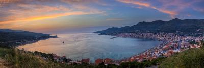 Panoramic Sunset View - Samos, Greece-EvanTravels-Photographic Print