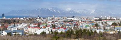 Panoramic View across the City of Reykjavik, Iceland, Polar Regions-Chris Hepburn-Photographic Print
