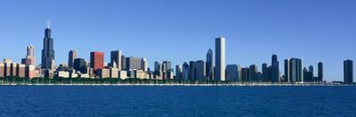 Panoramic View of Chicago Harbor, Chicago, Il