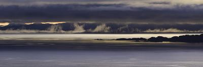 Panoramic View of Dawn Breaking across the Sound of Raasay and the Isle of Rona-John Woodworth-Photographic Print