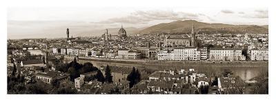 Panoramic View Of Florence-Vadim Ratsenskiy-Art Print