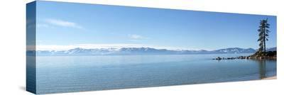 Panoramic View Of Lake Tahoe--Stretched Canvas Print