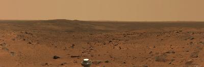 Panoramic View of Mars-Stocktrek Images-Photographic Print