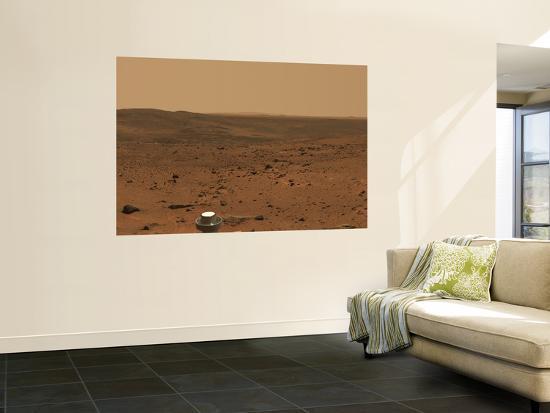 Panoramic View of Mars--Wall Mural