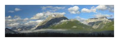 Panoramic view of Mt Kidd, Kananaskis Country, Alberta, Canada-Tim Fitzharris-Art Print