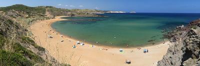 Panoramic View of Platja De Cavalleria (Cavalleria Beach)-Stuart Black-Photographic Print