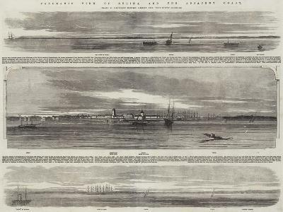 Panoramic View of Sulina, and the Adjacent Coast, HMS Retribution--Giclee Print