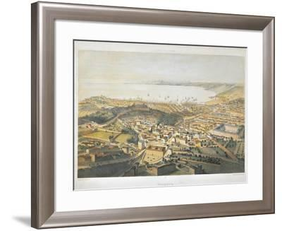 Panoramic View of Trieste-Bernardino di Betto Pinturicchio-Framed Giclee Print