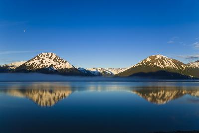 Panoramic View of Turnagain Arm and Kenai Mountains Near Girdwood-Design Pics Inc-Photographic Print