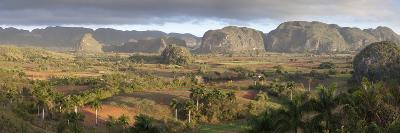 Panoramic View of Vinales Valley-Lee Frost-Photographic Print